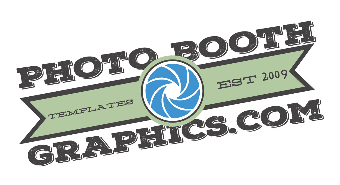 photo booth graphics template shop