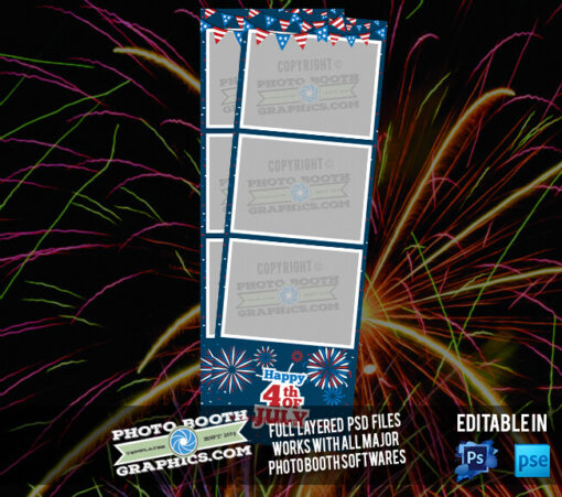 4th of July - 2x6