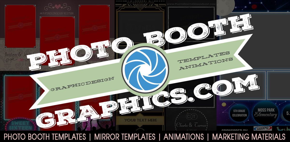 Photo Booth Graphics – Templates, Animations, Boomerang, Overlays